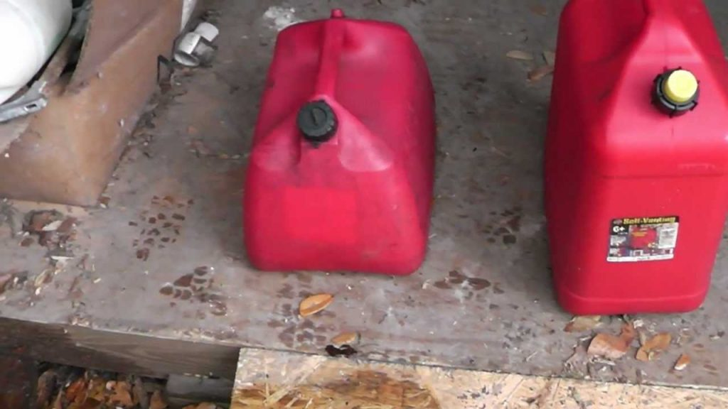 How to dispose old gasoline