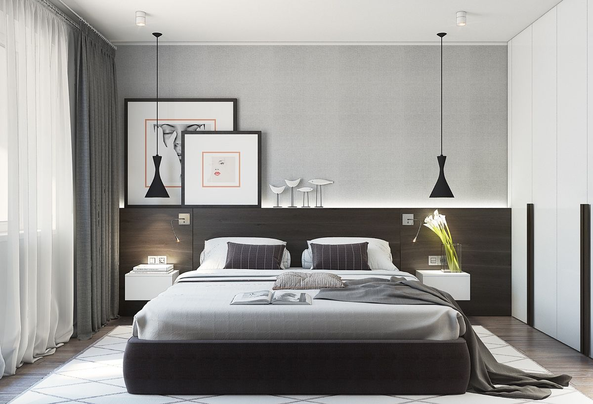 Small Bedroom: How to furnish it to make it beautiful and spacious?