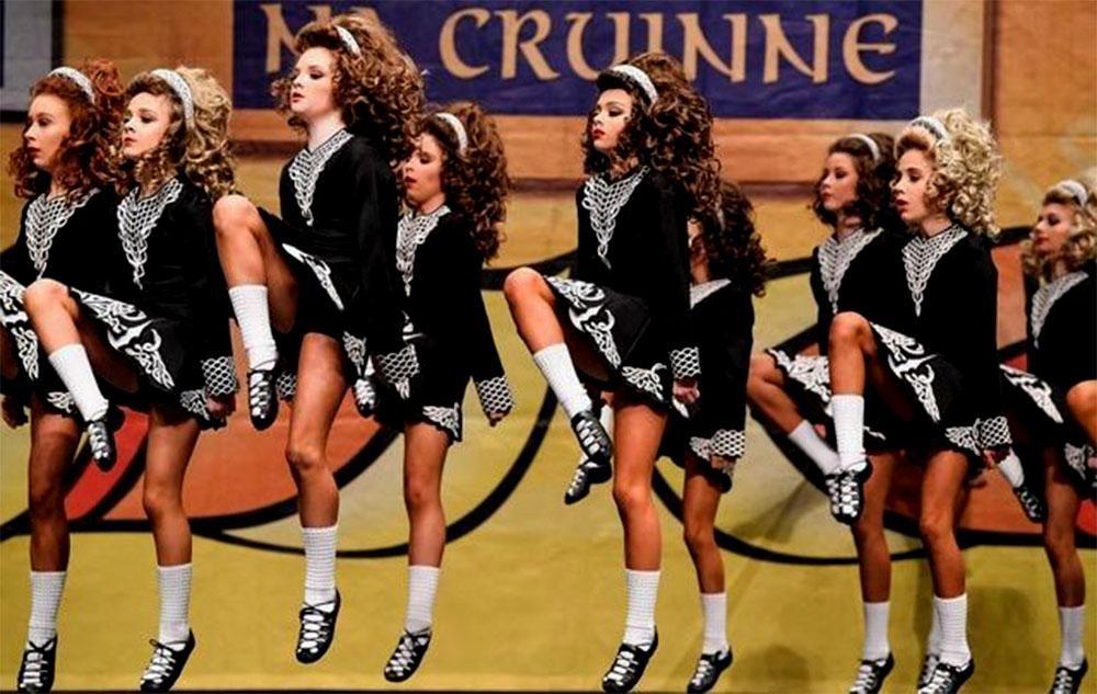 Irish dance during the lockdown