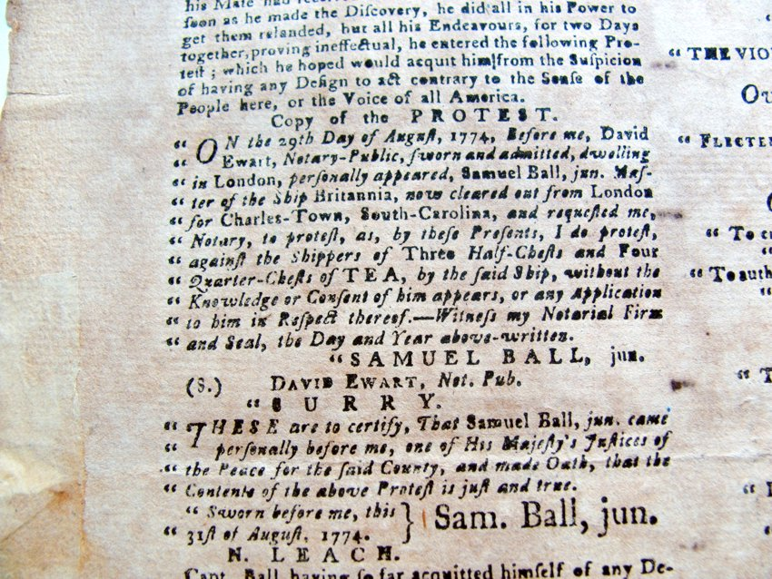 south-carolina-gazette-1774