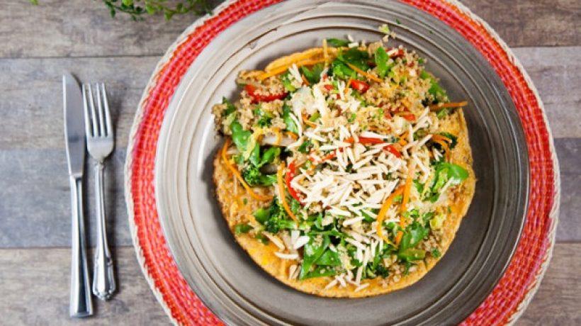 Chinese Style Quinoa Chaufa Recipe