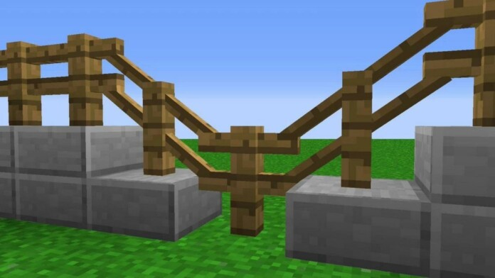 how to make fences in minecraft